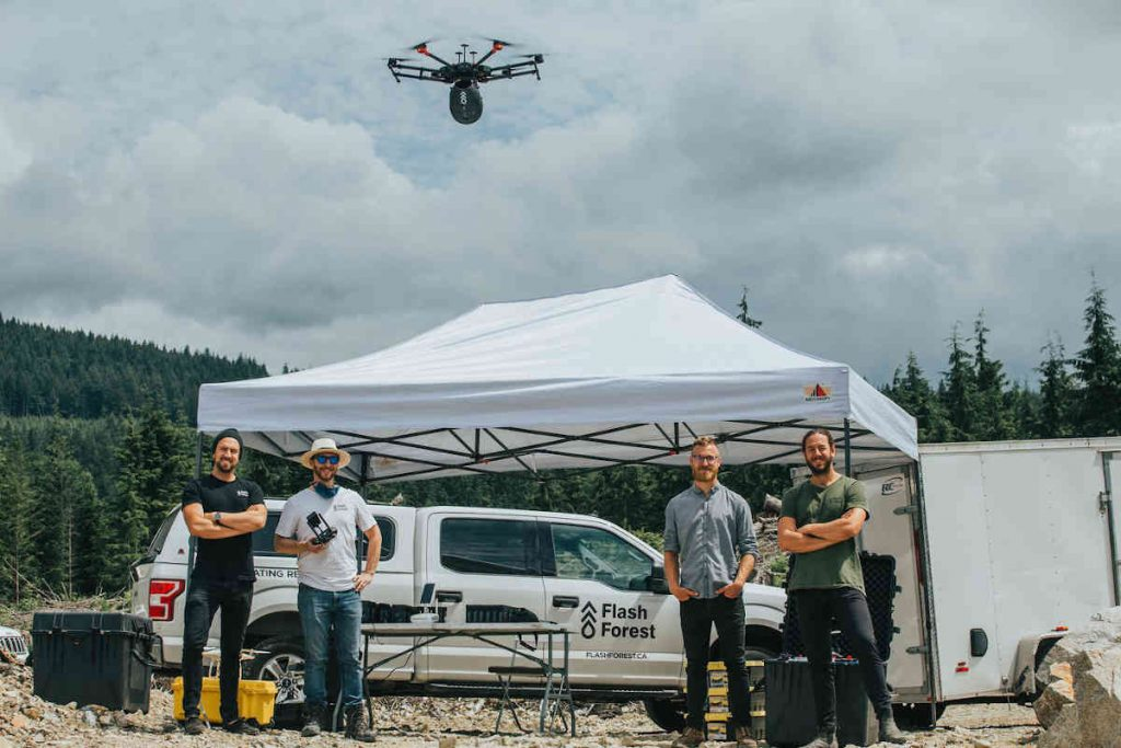Flash Forest aims to regrow world's forests with drones